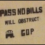 CONGRESSIONAL CONSTIPATION: CAUSED BY TEAPARTY OBSTRUCTIONISTS FESTERING IN THE BOWELS OF CONGRESS