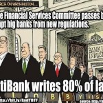 FINANCIAL RUSSIAN ROULETTE:  MORE DEREGULATION OF SOCIOPATHIC GREED FROM HR 992: WRITTEN BY CITI BANK LOBBYISTS: